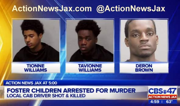 Jacksonville Florida Taxi Driver Murder